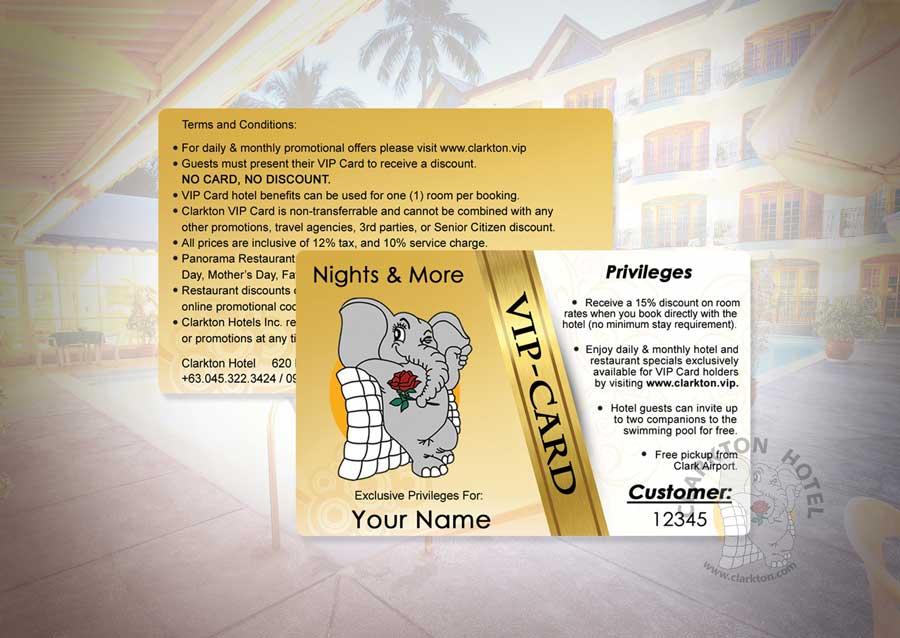 Clarkton Hotel Vip Card System